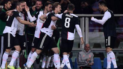 Matthijs de Ligt schiet leider Juventus naar overwinning in Turijnse derby
