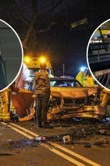 Henk-Jan en Randy hielpen na heftig ongeluk in Loenen waar anderen toeterden en filmden: 'Ongelooflijk!'