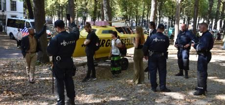 Elf demonstranten aangehouden op Prinsjesdag