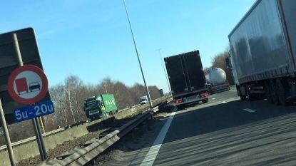 Uniform inhaalverbod op komst voor vrachtwagens op Havenweg tussen Ekeren en Nederlandse grens