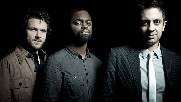 Het Vijay Iyer Trio. Beeld