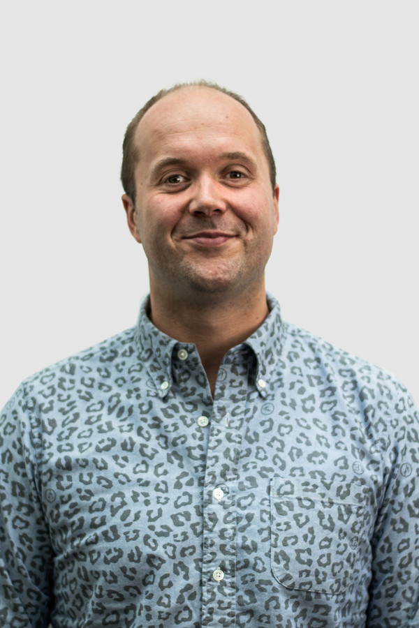 Creatief directeur Willem Bos (37) krijgt zijn beste ideeën op de fiets.