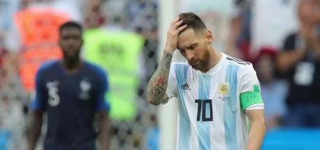 Messi zegt af voor oefenduels Argentinië