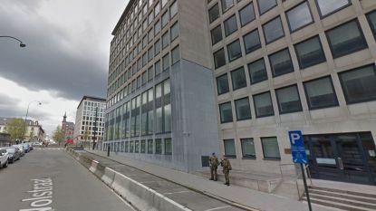 Gasgeur bij federaal parket Brussel: vals alarm