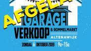 Garageverkoop Altenawijk AFGELAST