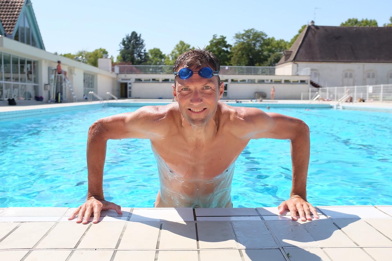 Sjoerd Veltman is klaar voor de triatlon van Veenendaal.