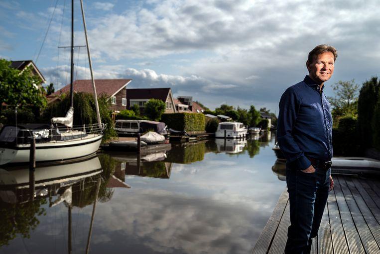 Ger Jaarsma in Leeuwarden, zijn woonplaats. Beeld Reyer Boxem