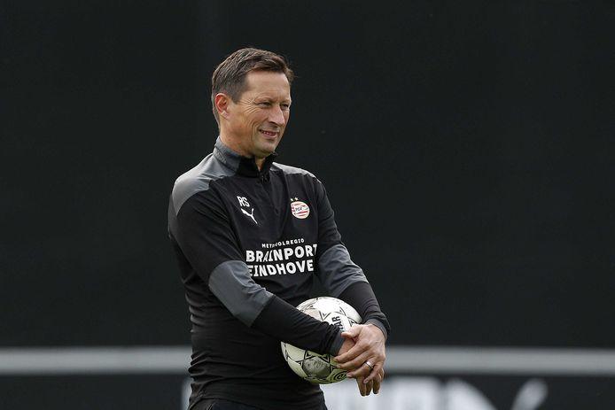 Roger Schmidt, de nieuwe hoofdcoach van PSV.