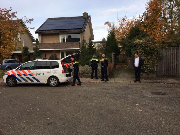 Drugsafval in woonwijk in Waalre