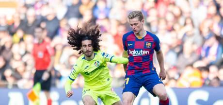 Frenkie: Getafe de sterkst denkbare tegenstander die Ajax had kunnen loten