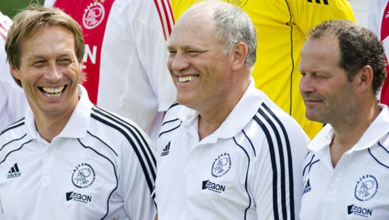 Martin Jol (midden) poseerde woensdag gewoon voor de teamfoto van volgend seizoen. Foto ANP Beeld