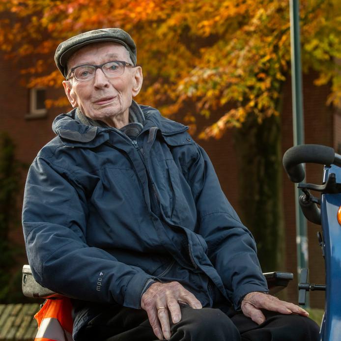 Bart Mutsaers, 102 jaar oud.