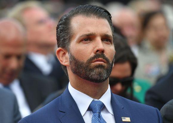 Donald Trump Jr, de oudste zoon van de president.