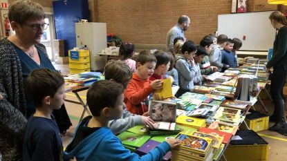 Boekenbeurs moet leerlingen Sint-Lambertusschool aanzetten tot lezen