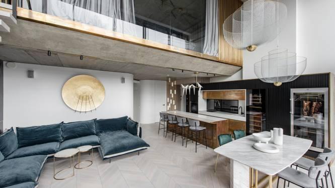 Renovatie maakt van flat luxeverblijf met sauna en jacuzzi op dakterras