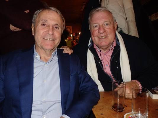 Heinz Stuy (r) en Bennie Muller (l)