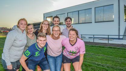 Rhinos Rugby Oudenaarde heeft nieuw clubhuis klaar