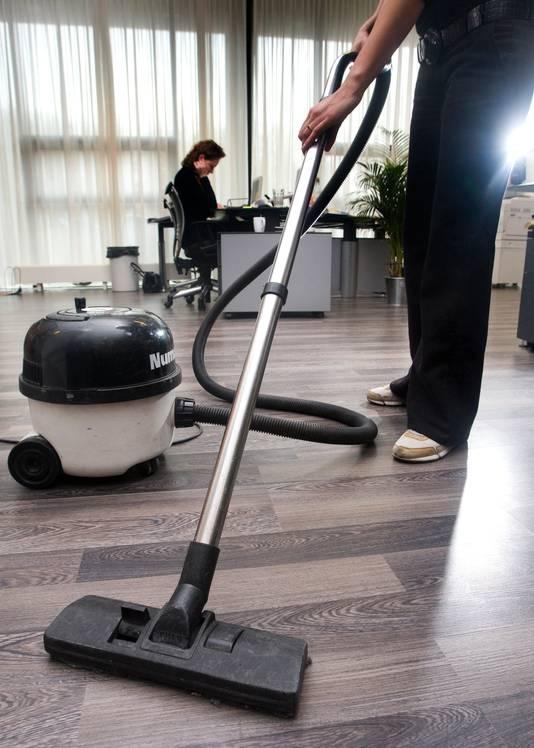 De schoonmaakbranche zit te springen om personeel.