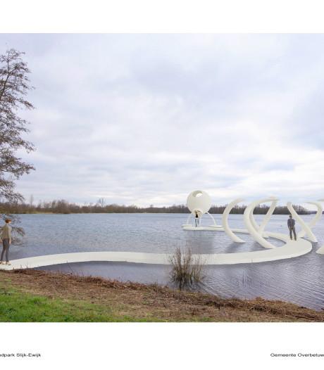 Strandpark Slijk-Ewijk krijgt  'mammoettanden' van Sweere