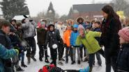 Dolle winterpret op school