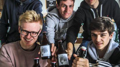 Leerlingen Jan Fevijn brouwen eigen bier