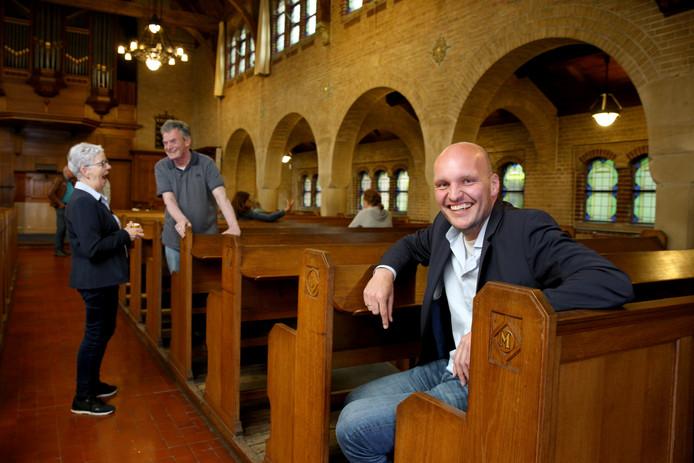 Rotterdam 12-06-2019 - Toeristenkerk van start in historische Waalse Kerk - initiatief van dominee Niels de Jong.fotografie@sannedonders.nl