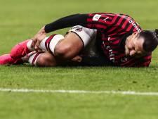 Soulagement pour Ibrahimovic: le tendon d'Achille n'est pas touché