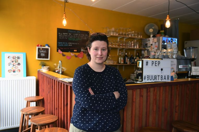 Loes Deraedemaeker gaat uiteindelijk toch geen QR-code aan de voordeur van haar inmiddels gesloten koffiehuis PEP hangen.