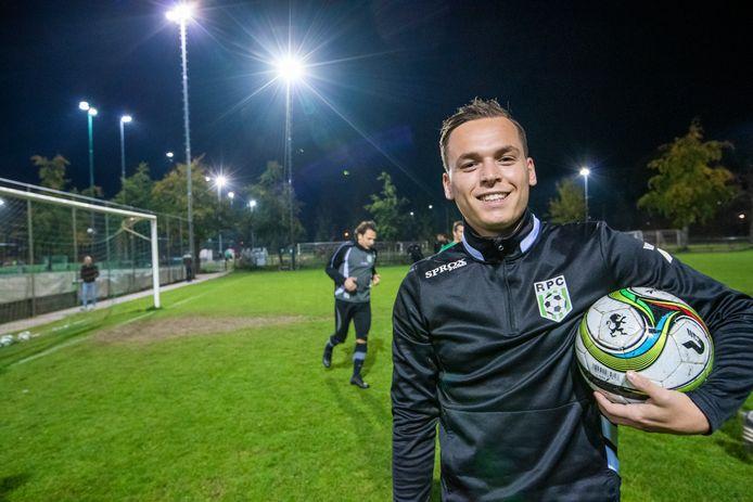 """Vincent Bogaerts heeft bij RPC het plezier in het voetbal hervonden. ,,Dit is een echt vriendenteam."""""""