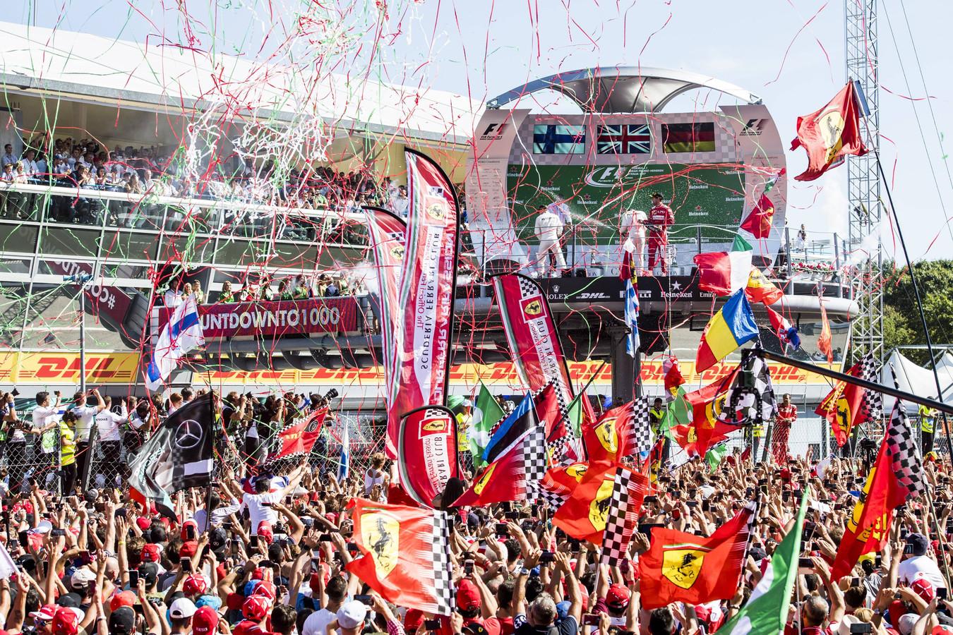 De GP van Monza in 2017.
