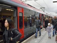 Harde wind legt treinverkeer tussen Alphen en Gouda plat, boom omgewaaid op spoor