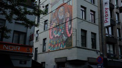Bruegel inspireert street art in  Marollenwijk