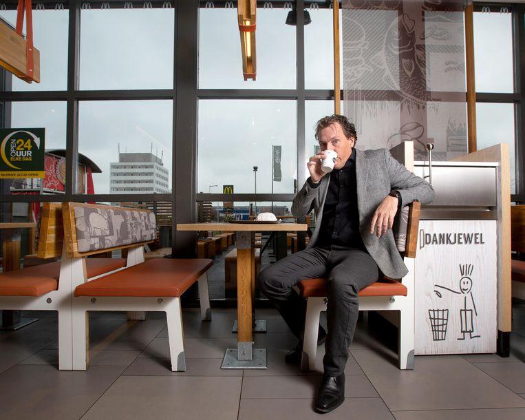 Erwin Dito, directeur marketing, communicatie en consumer Insights van McDonald's Nederland Beeld Maartje Geels