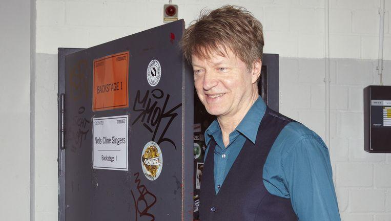 Nels Cline op de dag van zijn optreden in Keulen. Beeld Daniel Cohen