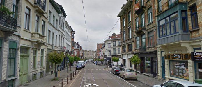 De Lesbroussartstraat in Elsene.