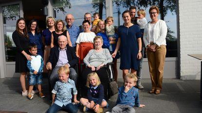 Adelain en Jeannine 60 jaar getrouwd