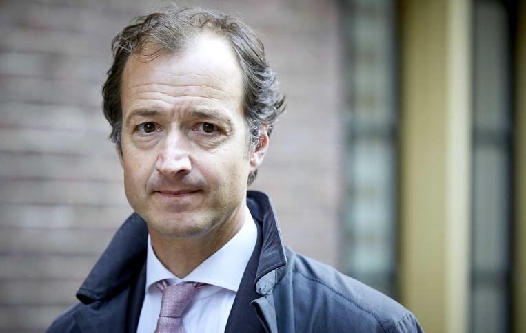 Staatssecretaris Eric Wiebes van Financiën Beeld ANP