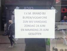 Drie winkels nog dicht na brand in centrum Winterswijk