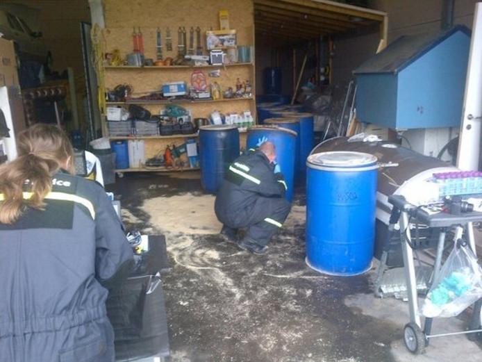De politie in Turnhout deed ook invallen