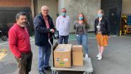 4.000 bakjes troost en 10 kg chocolade voor personeel van AZ Sint-Jan