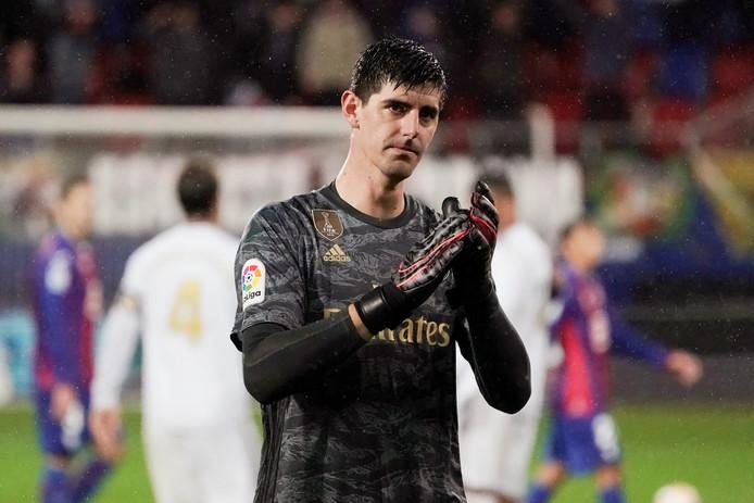 Thibaut Courtois a retrouvé toute sa confiance dans les cages du Real Madrid.