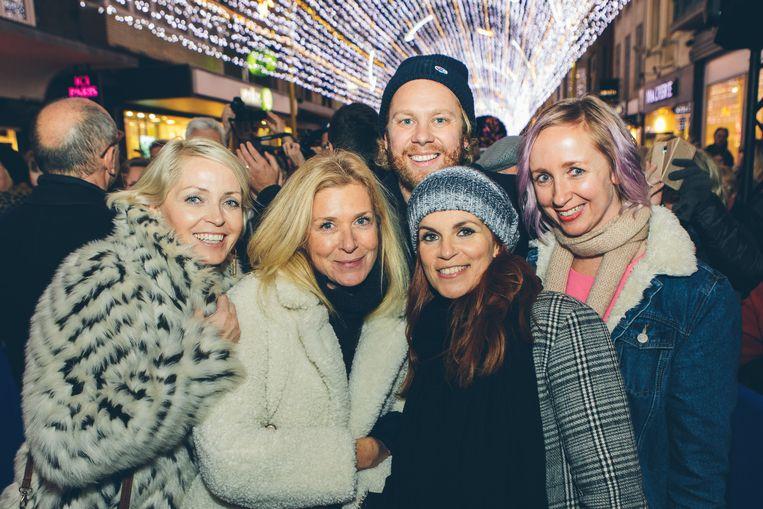 Dagny Ros, Barbara Sarafian, Rik Verheye, Katja Retsin en Heidi Lenaerts.