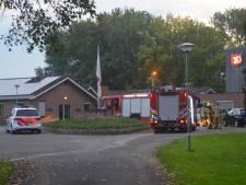 Brand bij Leger des Heils in Vogelwaarde na omstoten theelichtje