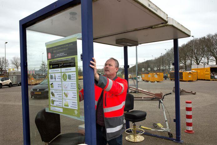 Het aanbiedstation in Zevenaar sluit als in 2022 het nieuwe afvalpunt op 7Poort klaar is.