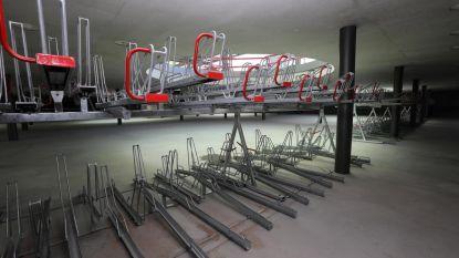 Ondergrondse stalling biedt plaats aan 1.400 fietsen
