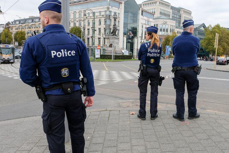 Archiefbeeld van de Brusselse politie.