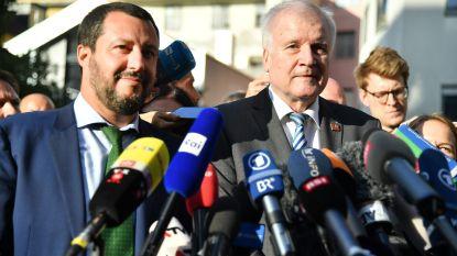 Duitse minister Seehofer wil snel migrantenakkoord met Italië