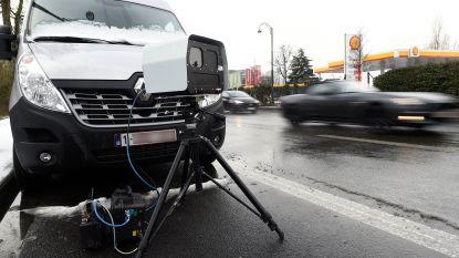 Politie flitst 31 bestuurders op Westkade