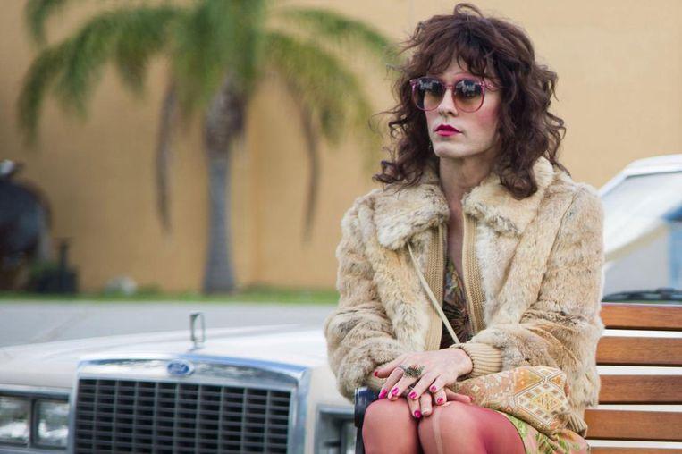 Jared Leto als een aan aids lijdende transvrouw in Dallas Buyers Club (2013). Beeld Focus Features
