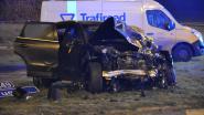Drie voertuigen betrokken bij zware aanrijding op expresweg